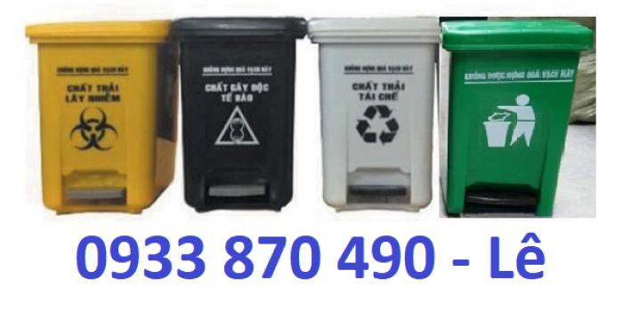 Thùng rác y tế 15 lít, 20 lít giá bán rẻ , thùng rác nhựa 15 lít đựng rác y tế