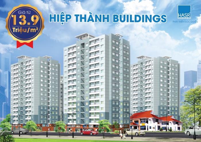 Căn hộ xanh cao cấp Hiệp Thành Buildings