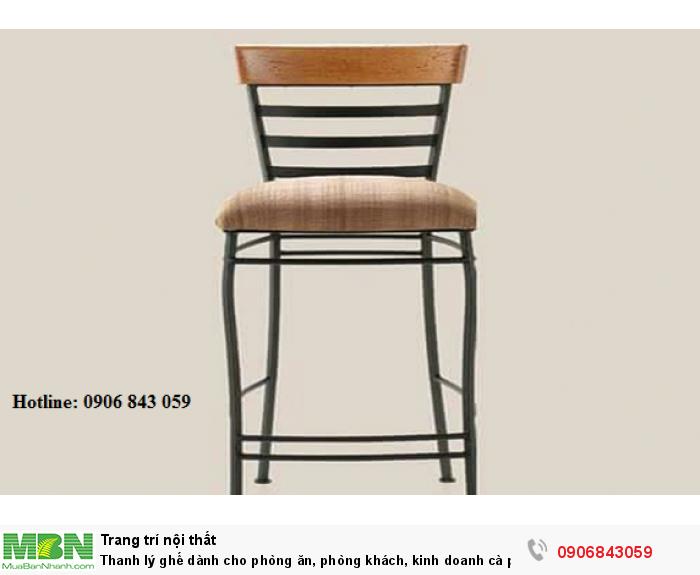 Thanh lý ghế dành cho phòng ăn, phòng khách, kinh doanh cà phê giá rẻ1