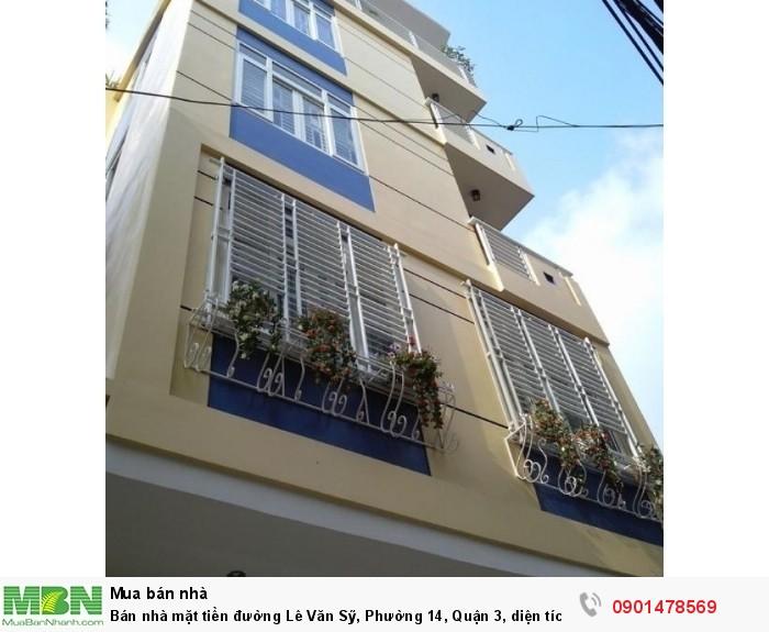 Bán nhà mặt tiền đường Lê Văn Sỹ, Phường 14, Quận 3, diện tích 4.3x20 m