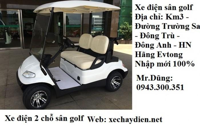 Xe điện sân golf 2 chỗ giá rẻ