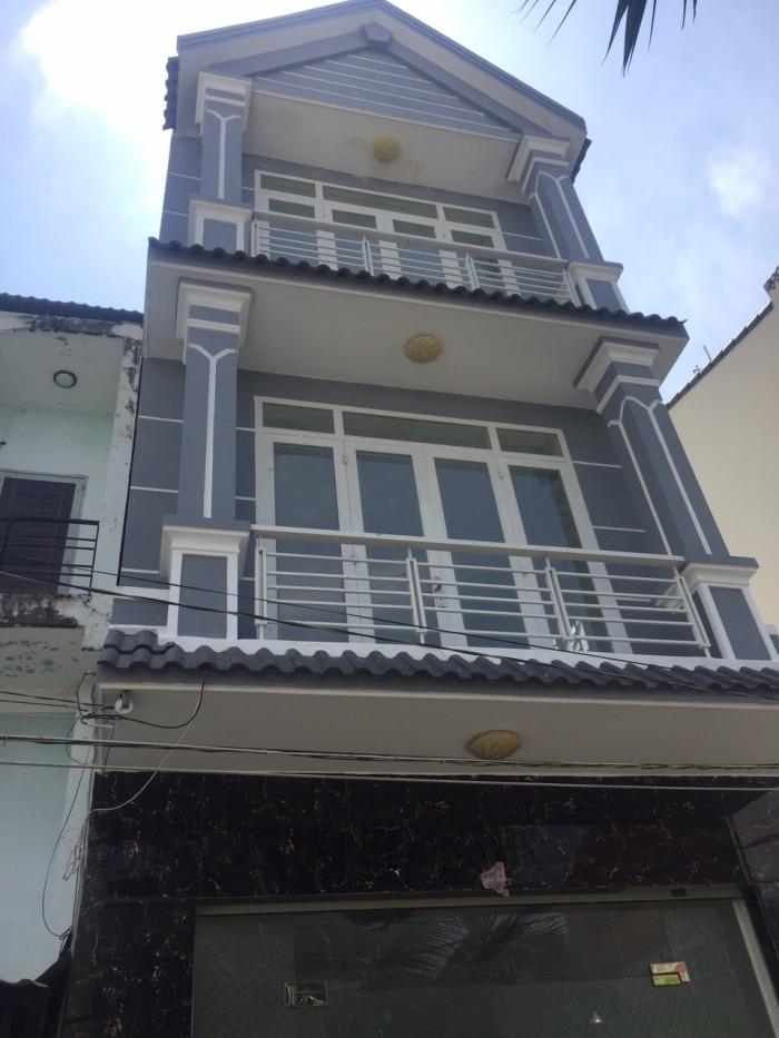 Bán gấp nhà đẹp hẻm xe hơi, Huỳnh Tấn Phát, giáp Quận 7, DT 4,8x14m, 3 lầu.