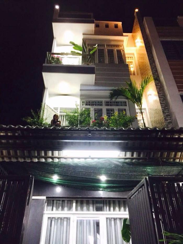 Bán nhà hẻm xe hơi, Huỳnh Tấn Phát, Tân Thuận Tây, Q7, DT5,4x16,5m, 3 lầu.