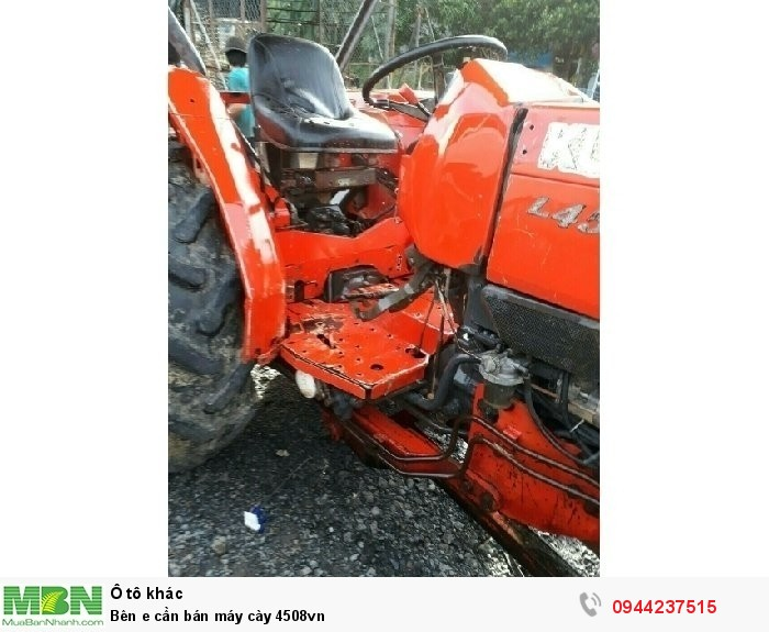Bên e cần bán máy cày 4508vn