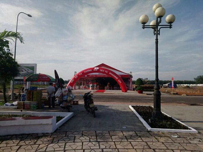 Đất nền Tp mới Biên Hòa, cách Amata 5p di chuyển, mặt tiền Quốc Lộ 1A, sổ riêng