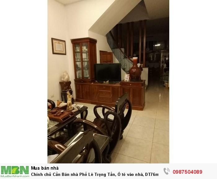 Chính chủ Cần Bán nhà Phố Lê Trọng Tấn, Ô tô vào nhà, DT76m2*4t, MT4m