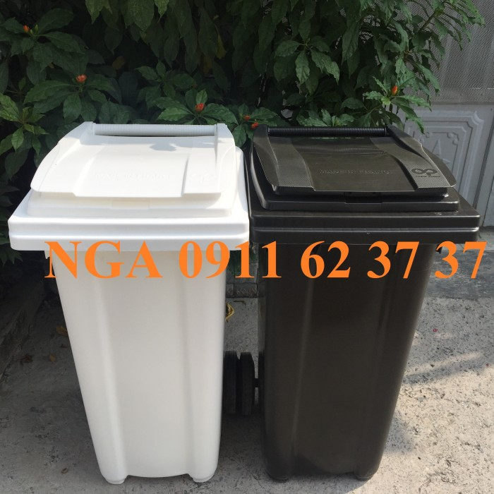 Thùng rác công cộng tại đà nẵng màu xanh lá giảm giá mạnh
