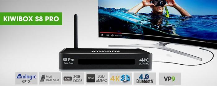 Android Kiwibox S8 Pro xem TV online với nhiều kênh truyền hình HD trong nước và quốc tế.