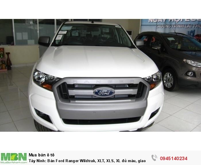 Tây Ninh: Bán Ford Ranger Wildtrak, XLT, XLS, XL đủ màu, giao xe nhanh.