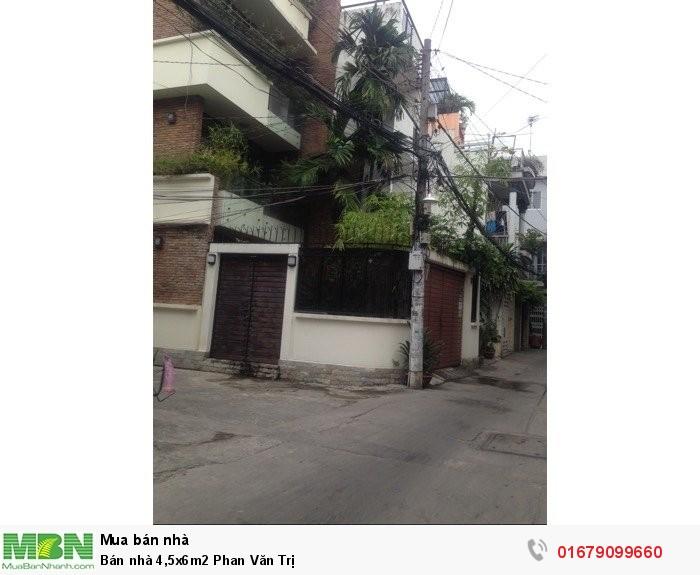 Bán nhà 4,5x6m2 Phan Văn Trị