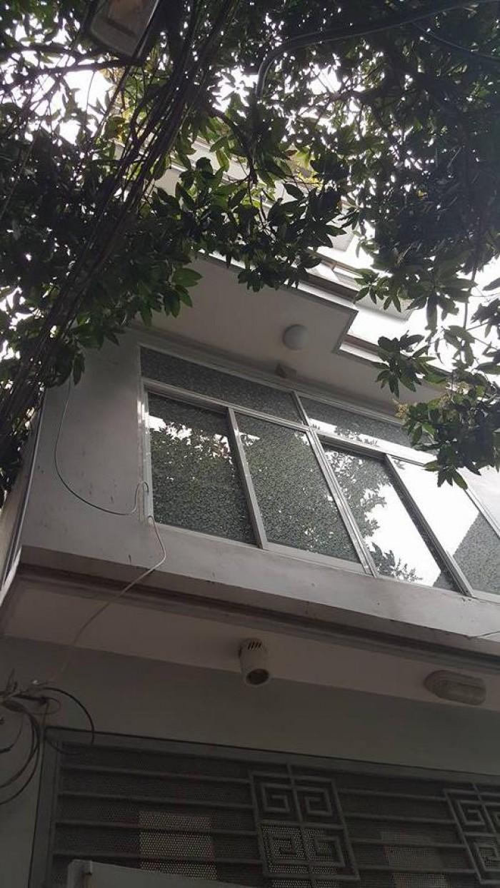 Bán nhà Tôn Thất Tùng, quận Đống Đa, 39m, 4 tầng, MT 5m