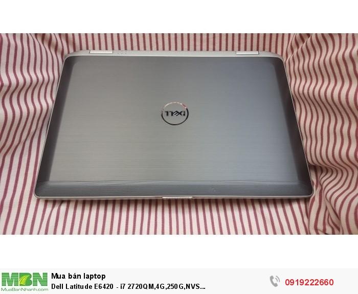 Dell Latitude E6420 - i7 2760QM,4G,320G,NVS 4200M,14inch,Webcam,máy đẹp0