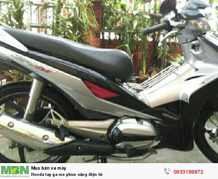 Honda tay ga rsx phun xăng điện tử