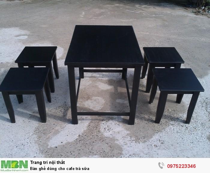 Bàn ghế dùng cho cafe trà sữa..ăn vật3