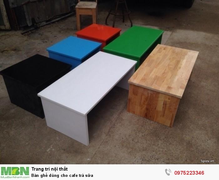 Bàn ghế dùng cho cafe trà sữa..ăn vật4
