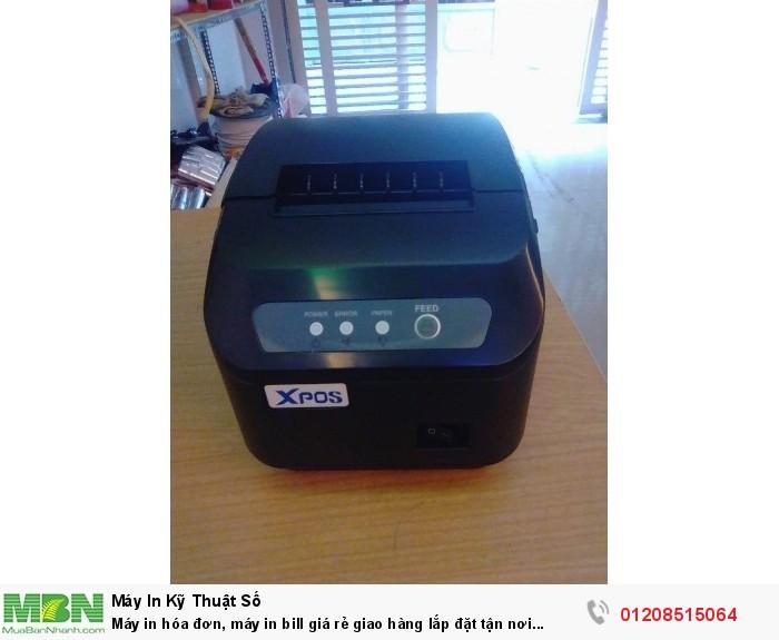 Máy in hóa đơn, máy in bill giá rẻ giao hàng lắp đặt tận nơi nhanh chóng tiện lợi