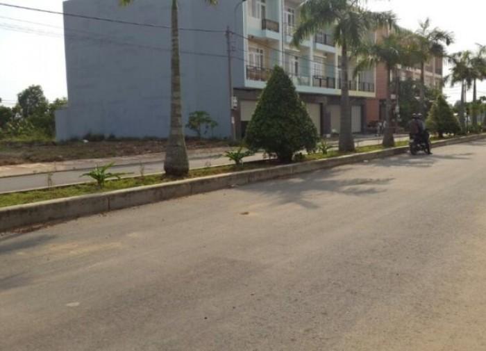 Đất xây trọ mặt tiền đường 27m KCN Phúc Long, Sổ hồng riêng 100m2