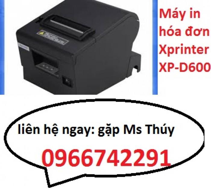 Máy in hóa đơn Xprinter XP-D600  hàng tốt không lo về giá