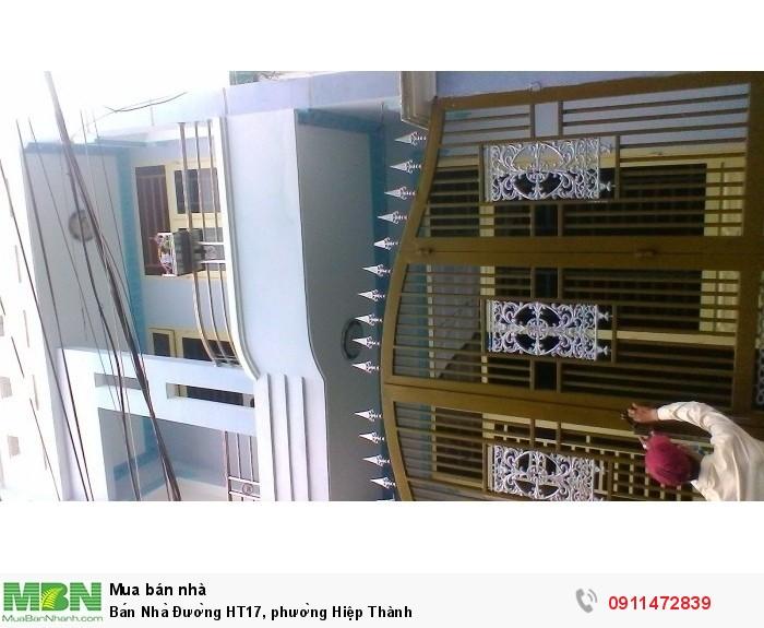 Bán Nhà Đường HT17, phường Hiệp Thành