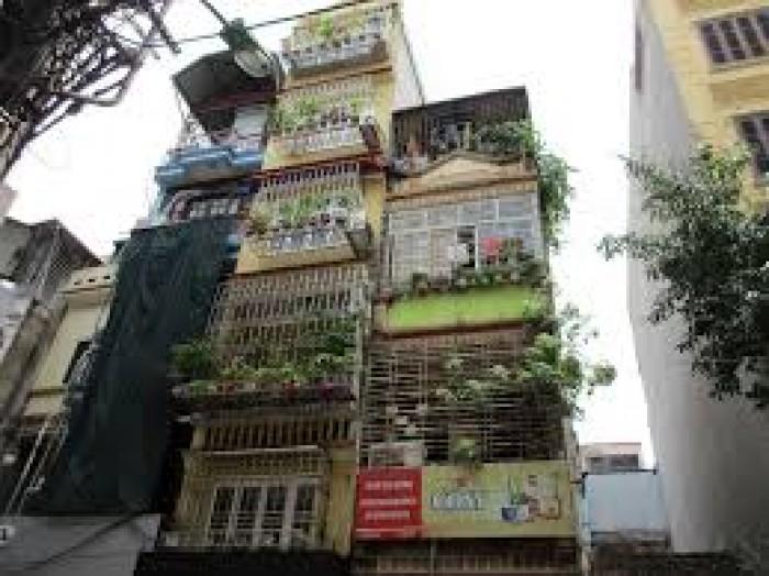 Bán gấp nhà phố Hồng Mai quận Hai Bà Trưng dt 55m2 xây 6 tầng.