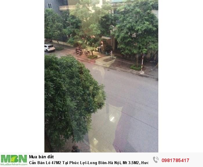Cần Bán Lô 47M2 Tại Phúc Lợi-Long Biên-Hà Nội, Mt 3.5M2, Hướng Nam