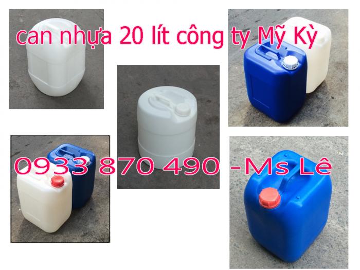 Bán can nhựa 20l, can nhựa 25l, can nhựa 30l, can nhưa 20 lít vuông
