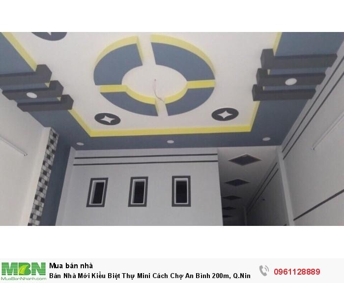 Bán Nhà Mới Kiểu Biệt Thự Mini Cách Chợ An Bình 200m, Q.Ninh Kiều 5x14m Hoàn Công