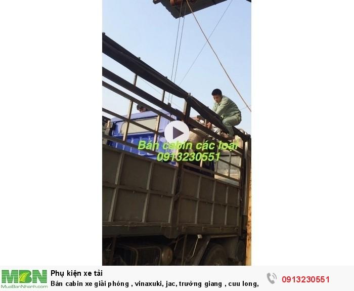 Bán cabin xe giải phóng , vinaxuki, jac, trường giang , cuu long, tmt, howo, dongfeng