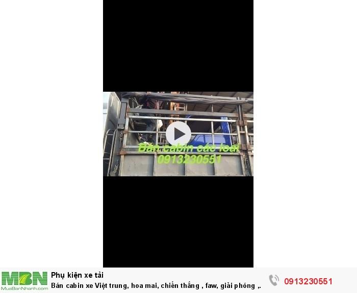 Bán cabin xe Việt trung, hoa mai, chiến thắng , faw, giải phóng , vinaxuki, jac, trường giang