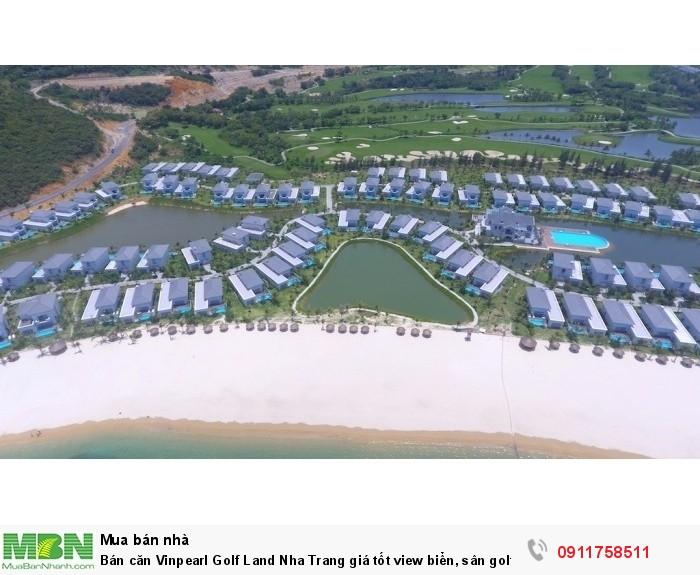 Bán căn Vinpearl Golf Land Nha Trang giá tốt view biển, sân golf, lợi nhuận 2,1 tỷ/năm