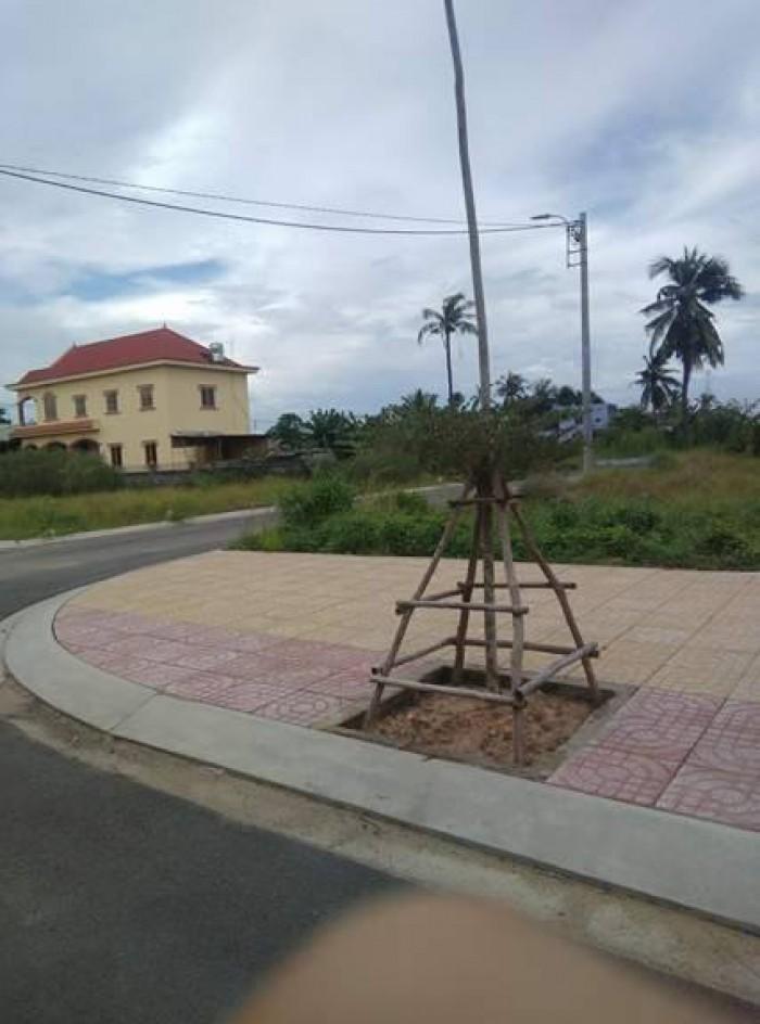 Đất nền 3 mặt tiền ven sông Sài Gòn An Phú Đông quận 12 giá 25,5tr/m2