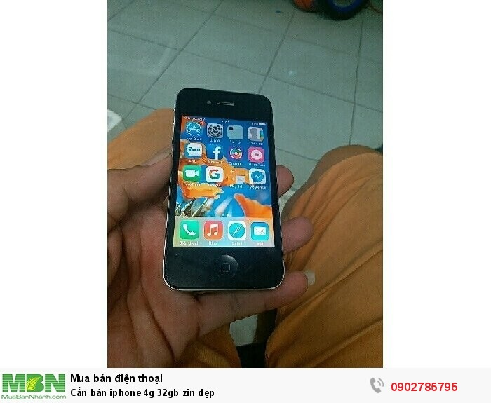 Cần bán iphone 4g 32gb zin đẹp