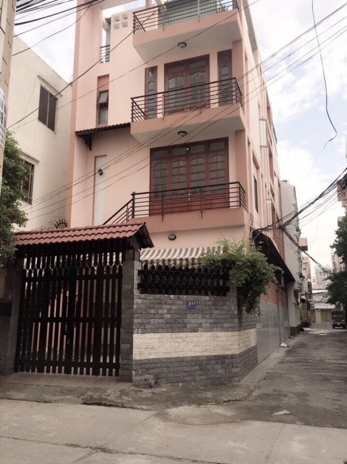 Nhà căn góc 2 mặt tiền - HXH 8m - Khu biệt thự an ninh