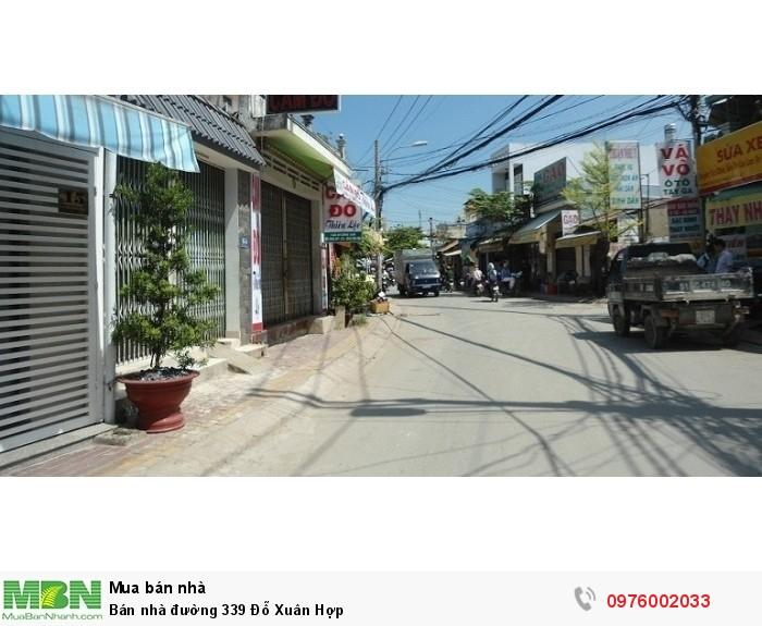 Bán nhà đường 339 Đỗ Xuân Hợp