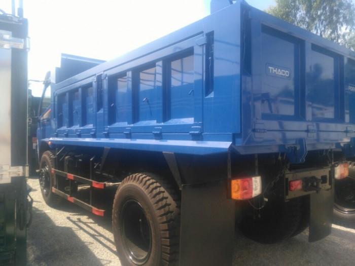 Mua xe Ben từ 2,5 tấn đến 9 tấn tại Bà Rịa Vũng Tàu - mua xe ben trả góp, giá tốt, chở cát đá xi măng 4