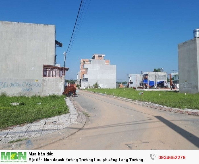 Mặt tiền kinh doanh  đường Trường Lưu phường Long Trường quận 9,mặt tiền kinh doanh 57m2