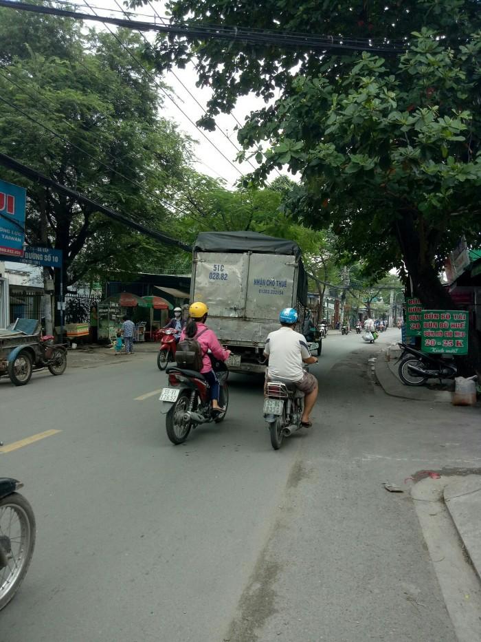 Bán nhà 2 mặt tiền đường Cây Trâm, phường 8, quận Gò Vấp, 6 x 25m, cấp 4
