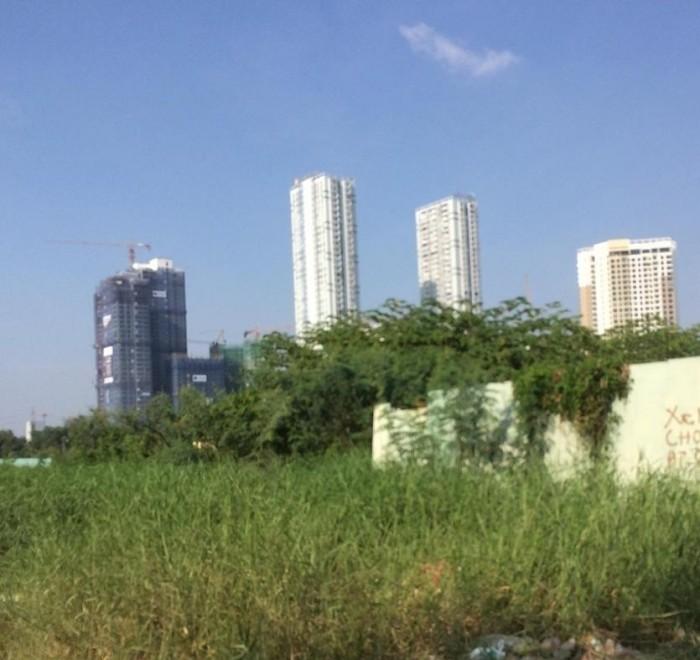 đất nền thổ cư, mặt tiền đường nhựa 12m Trương văn bang, thạnh mỹ lợi, Quận 2