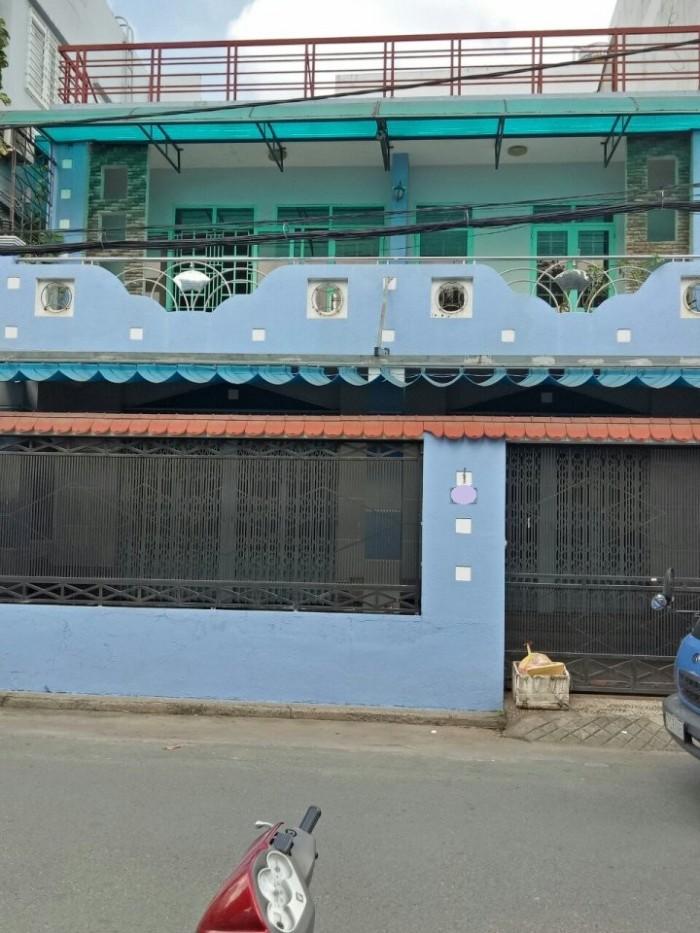 Bán nhà mặt tiền đường số 9, phường 16, quận Gò Vấp, 9,5 x 14m, 1 Trệt + 1 Lầu, giá 8,15 tỷ