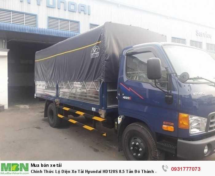 Chính Thức Lộ Diện Xe Tải Hyundai HD120S 8.5 Tấn Đô Thành - Hỗ Trợ Trả Góp 80%