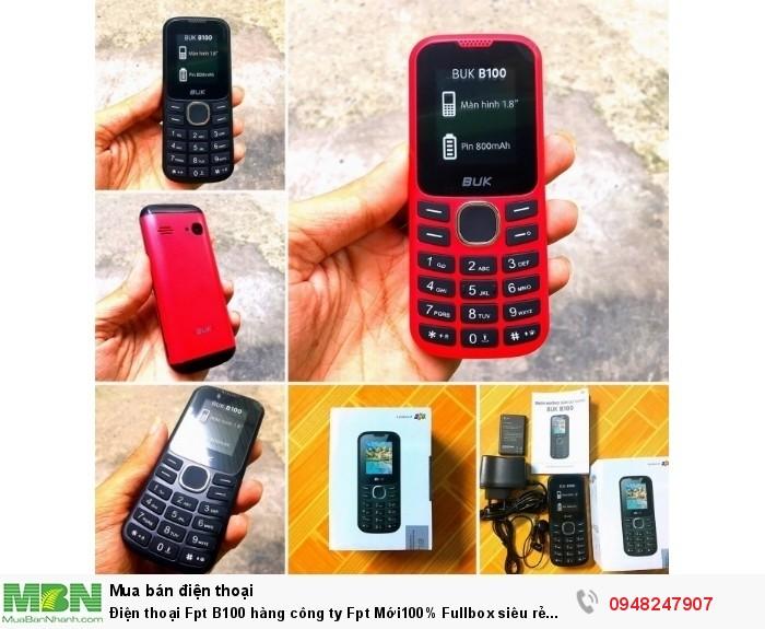 Điện thoại Fpt B100 hàng công ty Fpt Mới100% Fullbox siêu rẻ 259k.Có giao tới