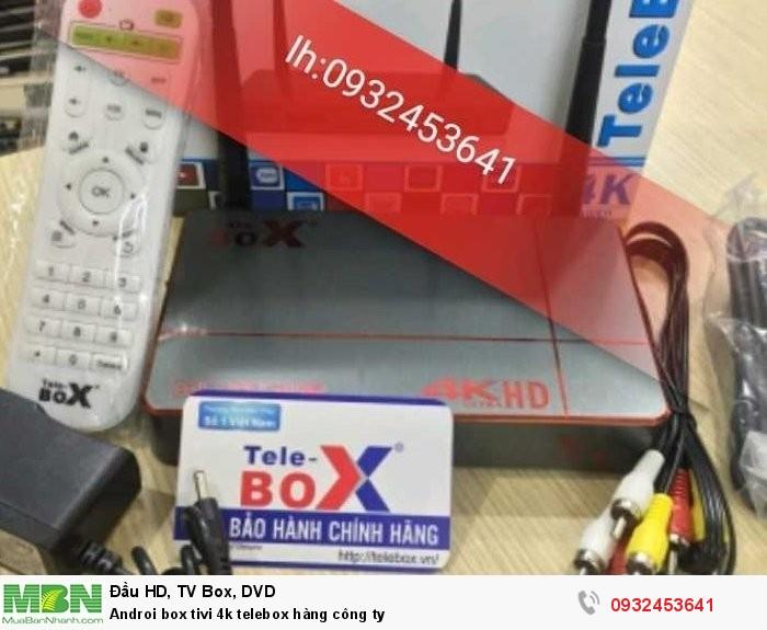 Androi box tivi 4k telebox hàng công ty1