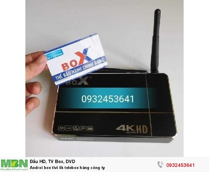 Androi box tivi 4k telebox hàng công ty3