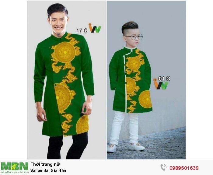 Vải áo dài Gia Hân
