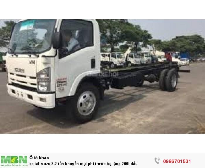 xe tải isuzu 8.2 tấn chassi