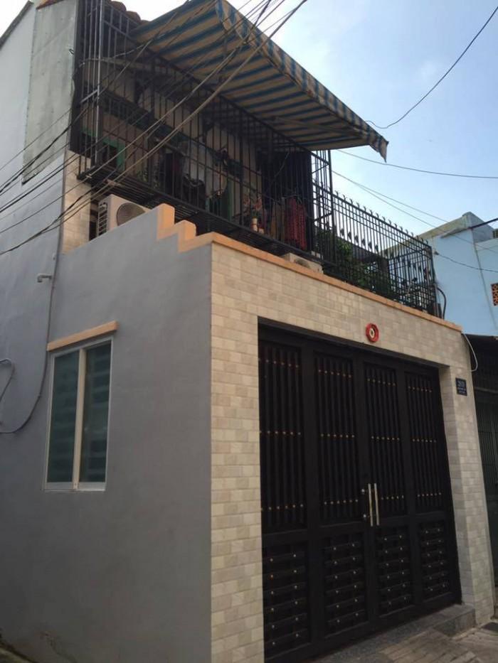 Bán nhà  hẻm 6M Nguyễn Minh Châu, P.Phú Trung, Tân Phú (4x13m, 1 tấm, 3.25 tỷ)