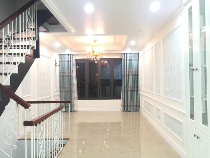 Nhà đẹp gần ngã tư Văn Phú HĐ, 53m2*4T, [full nội thất], đường 12m