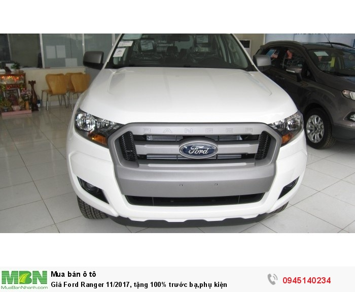 Giá Ford Ranger 12/2017,Giá tốt nhất, tặng phụ kiện