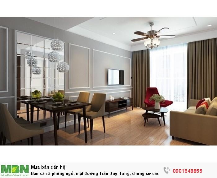 Bán căn 3 phòng ngủ, mặt đường Trần Duy Hưng, chung cư cao cấp 5 sao