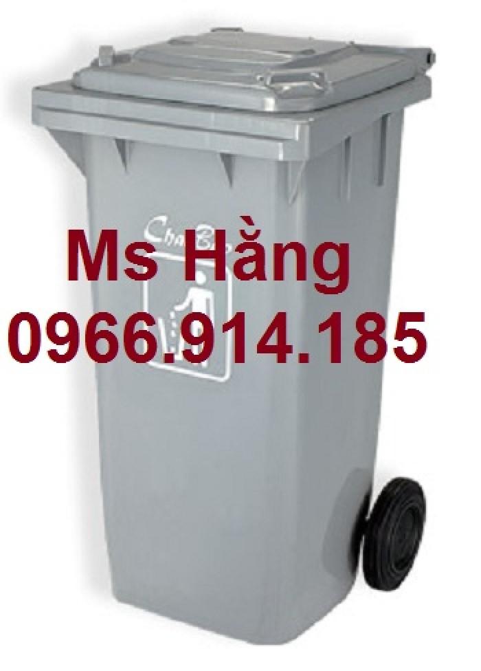 Cung cấp thùng rác 240l có bánh xe